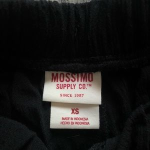 Mossimo Supply Co. Shorts - Black Shorts with Tassel Detailing